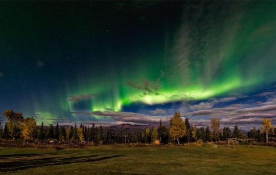 Auroras Boreales en Alaska ¿cuándo? ¿dónde?