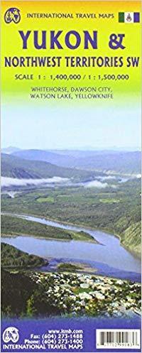 Mapa de carreteras del Yukon