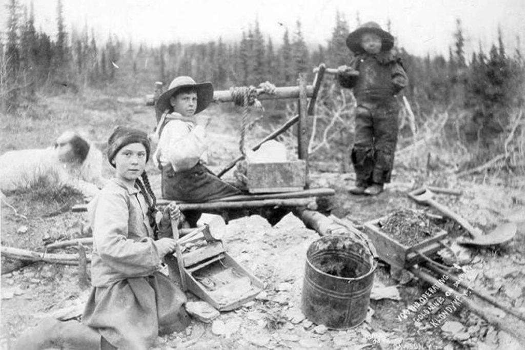 Foto de Greta en el Yukon … ¡hace 120 años!