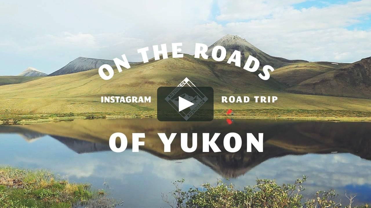 Instagramers de viaje por el Yukon