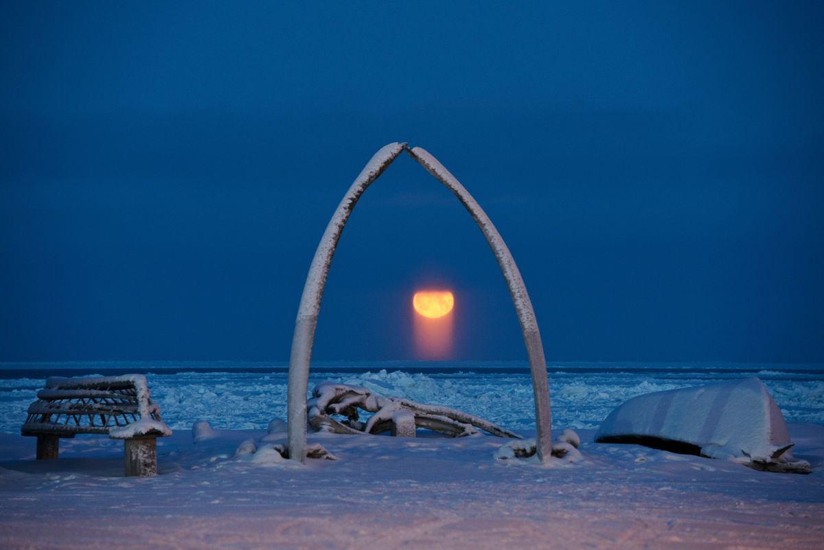Temperatura récord de frío en Utqiagvik