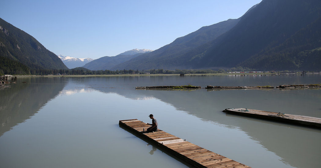 Hyder, el pueblo más en el sur de Alaska