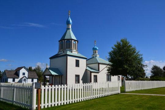 Las iglesias ortodoxas de Kenai